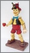 Boy mit Apfel, 51x76x108cm