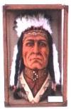 Chinookan Kopf,46x46x66