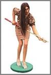 Billiard Lady,62x103x165cm