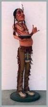 Indianer Butler,60x48x172cm