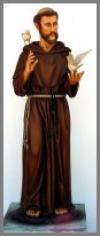 St.Franziskus,58x68x175cm