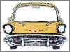 Chevy Spiegel,110x14x84cm