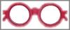 Brille, Spiegel,83x14x33cm