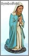 Hl.Maria,Stone fin. 52x50x118cm