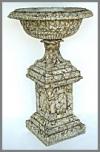Brunnen,Stone fin.60x60x128cm