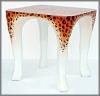 K.Tisch,Leopard, 56x56x56cm