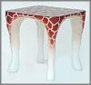 K.Tisch,Giraffe, 56x56x56cm