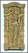 Hindu Schrank, Stonef.67x66x135cm