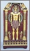 Egypt Schrank Mann, 89x62x148cm