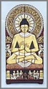 Schrank Buddha,89x62x179cm