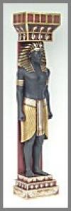 Egypt Säule Mann 200 cm