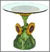 Sonnenblumen Tisch 43x43x62cm m.G.