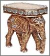 Elefanten Seitentisch 75x49x70 cm