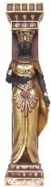 Egypt Säule Frau 54x34x205 cm