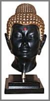 Buddha,Kopf, 39x32x60cm