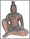 Ankor Wat Statue,sitz.139cm h