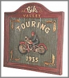 Bike Valley Plaque, 68cm