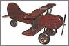 Flugzeug, 46x23x23cm