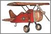 Flugzeug,51x25x28cm