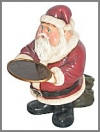 Fetter Santa Waiter, 42cm