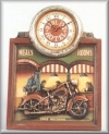 Wand Uhr,Harley Hotel,56cm