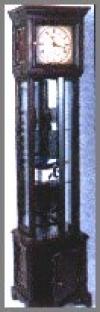 Grossvater Uhr,42x33x186cm
