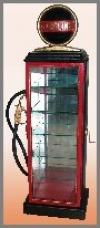 Gasolin Displ.Cabinet,med.105cm h