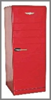 Alter Kühlschrank 66x60x150 cm