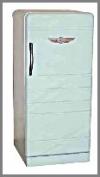 Alter Kühlschrank 44x44x90 cm