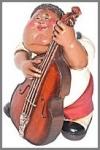 Bassist, 31,75cm