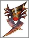 Adara Maske, 70x19x104cm