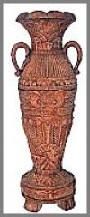 Vase Egypt, Stone fini.174cm