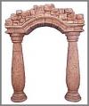 Antiksäulenkombination, 221x287,61cm