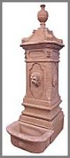 Brunnen, Löwe gr. 184cm