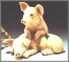 Schweinepaar,10x9cm