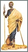 Maasai Hirte
