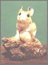 Maus auf Ast,R.9x9cm