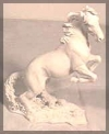 Mustang, weiß,17cm