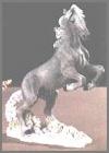 Mustang, grau,17cm