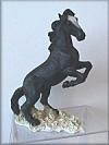 Mustang, schwarz,17cm
