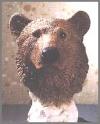 Bär, Büste,18cm
