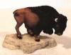 Büffel ohne Pfeile,17x10cm