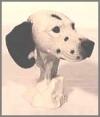 Dalmatiner,Kopf,18cm