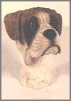 Boxerhund Kopf,18cm