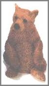 Bär mini, braun,5cm