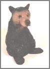 Bär mini, schwarz,5cm
