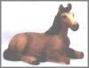 Pferd mini braun,5cm