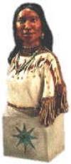 Sacagawea Büste,25cm