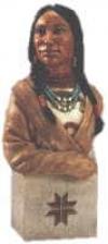 Pocahontus Büste,25cm