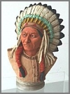 Chief Joseph Büste,17cm
